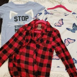 Other - Bundle of 3 girls shirts all sz 7/8